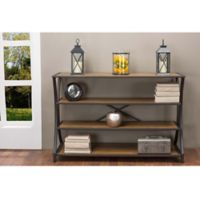 Wholesale Interiors Inc. Lancashire Console Table in Brown