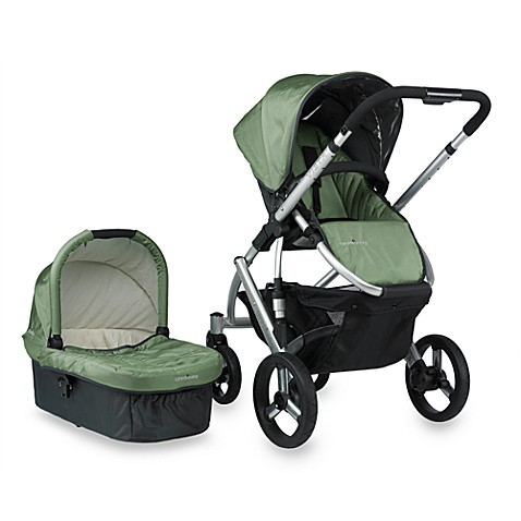 UPPAbaby® Carlin Green Vista Stroller and Accessories ...
