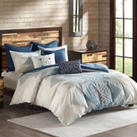 INK+IVY Nova King/California King 3-Piece Comforter Set in Blue