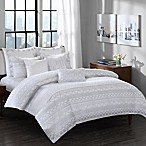 INK+IVY Pittsburgh King Comforter Set in Grey
