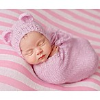 Tiny Blessings Boutique Size 3M Snuggle Sack and Bear Bonnet Set in Pink