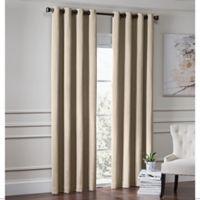 Garland 84-Inch Lined Grommet Top Window Curtain Panel in Linen