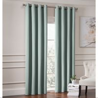 Garland 84-Inch Lined Grommet Top Window Curtain Panel in Spa