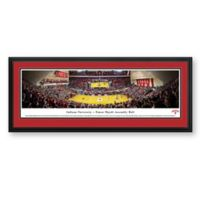Blakeway Panoramas Indiana University Print with Deluxe Frame