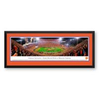 Blakeway Panoramas Clemson University Print with Deluxe Frame