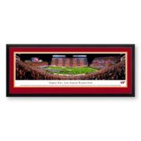 Blakeway Panoramas Virginia Tech Print with Deluxe Frame