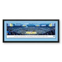 Blakeway Panoramas University of North Carolina Basketball Print with Deluxe Frame
