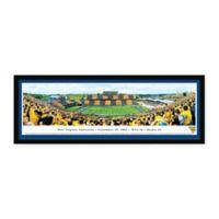 Blakeway Panoramas West Virginia University Print with Select Frame
