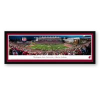Washington State University Panoramic Football Stadium Print with Select Frame