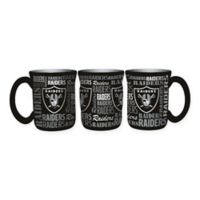 NFL Oakland Raiders 17 oz. Sculpted Spirit Mug