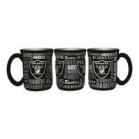 NFL Oakland Raiders 17 oz. Sculpted Spirit Mug
