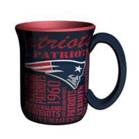 NFL New England Patriots 17 oz. Sculpted Spirit Mug