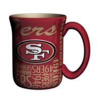 NFL San Francisco 49ers 17 oz. Sculpted Spirit Mug