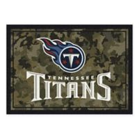 Milliken NFL Tennessee Titans 3-Foot 10-Inch x 5-Foot 4-Inch Camo Area Rug