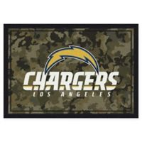 Milliken NFL San Diego Chargers 3-Foot 10-Inch x 5-Foot 4-Inch Camo Area Rug
