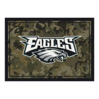 Milliken NFL Philadelphia Eagles 3-Foot 10-Inch x 5-Foot 4-Inch Camo Area Rug