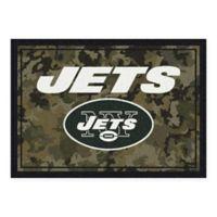 Milliken NFL New York Jets 3-Foot 10-Inch x 5-Foot 4-Inch Camo Area Rug