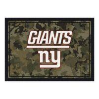 Milliken NFL New York Giants 3-Foot 10-Inch x 5-Foot 4-Inch Camo Area Rug