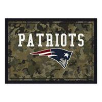 Milliken NFL New England Patriots 3-Foot 10-Inch x 5-Foot 4-Inch Camo Area Rug