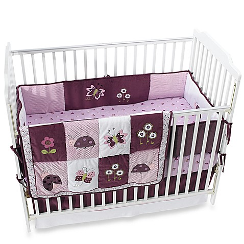 Lambs And Ivy Luv Bugs Crib Bedding