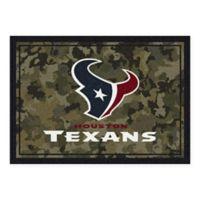 Milliken NFL Houston Texas 3-Foot 10-Inch x 5-Foot 4-Inch Camo Area Rug