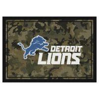 Milliken NFL Detroit Lions 3-Foot 10-Inch x 5-Foot 4-Inch Camo Area Rug