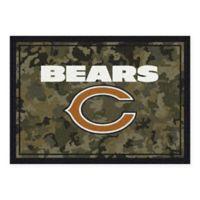 Milliken NFL Chicago Bears 3-Foot 10-Inch x 5-Foot 4-Inch Camo Area Rug