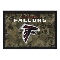 Milliken NFL Atlanta Falcons 3-Foot 10-Inch x 5-Foot 4-Inch Camo Area Rug