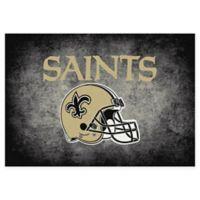 Milliken NFL New Orleans Saints 3-foot 10-Inch x 5-Foot 4-Inch Area Rug