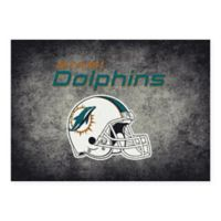 Milliken NFL Miami Dolphins 3-foot 10-Inch x 5-Foot 4-Inch Area Rug