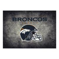 Milliken NFL Denver Broncos 3-foot 10-Inch x 5-Foot 4-Inch Area Rug