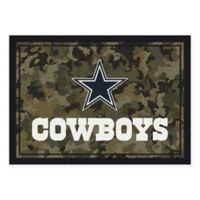 Milliken NFL Dallas Cowboys 5-Foot 4-Inch x 7-Foot 8-Inch Area Rug
