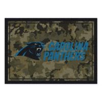Milliken NFL Carolina Panthers 5-Foot 4-Inch x 7-Foot 8-Inch Area Rug