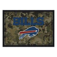 Milliken NFL Buffalo Bills 5-Foot 4-Inch x 7-Foot 8-Inch Area Rug