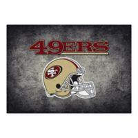 Milliken NFL San Francisco 49ers 5-foot 4-Inch x 7-Foot 8-Inch Area Rug