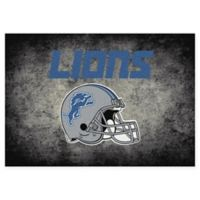 Milliken NFL Detroit Lions 5-foot 4-Inch x 7-Foot 8-Inch Area Rug
