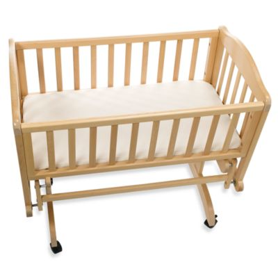Baby Bedding Tl Care Knit Ed Cradle Sheet Made With Organic Cotton In Natural