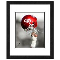University of Oklahoma Team Helmet Framed Photo