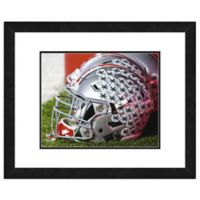 Ohio State University Team Helmet Framed Photo