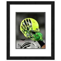 University of Oregon Team Helmet Framed Photo