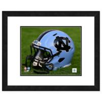 University of North Carolina Team Helmet Framed Photo