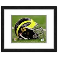 University of Michigan Team Helmet Framed Photo