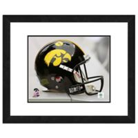 Iowa University Team Helmet Framed Photo