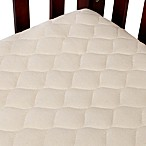 TL Care® Waterproof Crib Fitted Mattress Cover Made with Organic Cotton in Natural