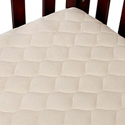 TL Care® Waterproof Crib Fitted Mattress Cover Made with Organic Cotton in Natural - BuyBuyBaby