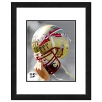 Florida State University Team Helmet Framed Photo
