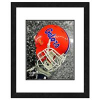 University of Florida Team Helmet Framed Photo