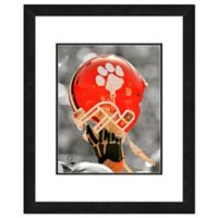 Clemson University Team Helmet Framed Photo