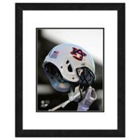 Auburn University Team Helmet Framed Photo