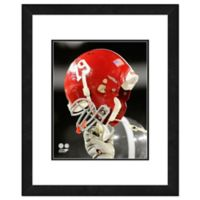 University of Alabama Team Helmet Framed Photo